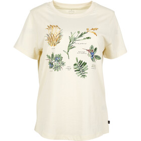United By Blue Blossom & Berry SS Graphic Tee Dame antique white